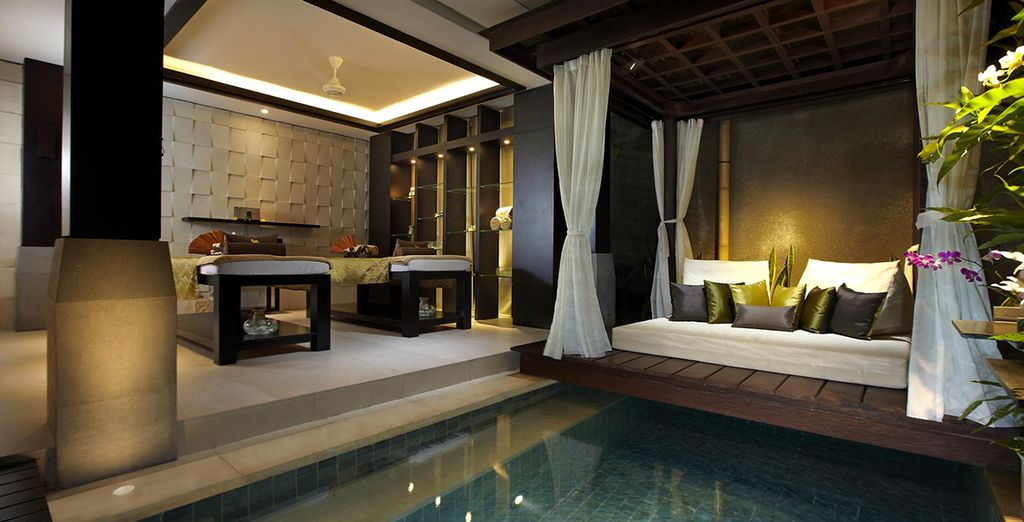 Enjoy treatments in a blissful setting