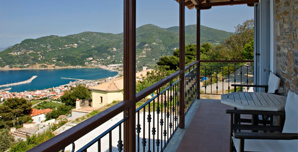 All villas feature amazing sea views