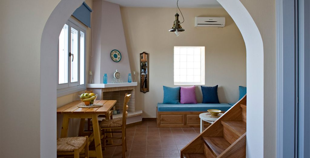 You are fully equipped for self catering