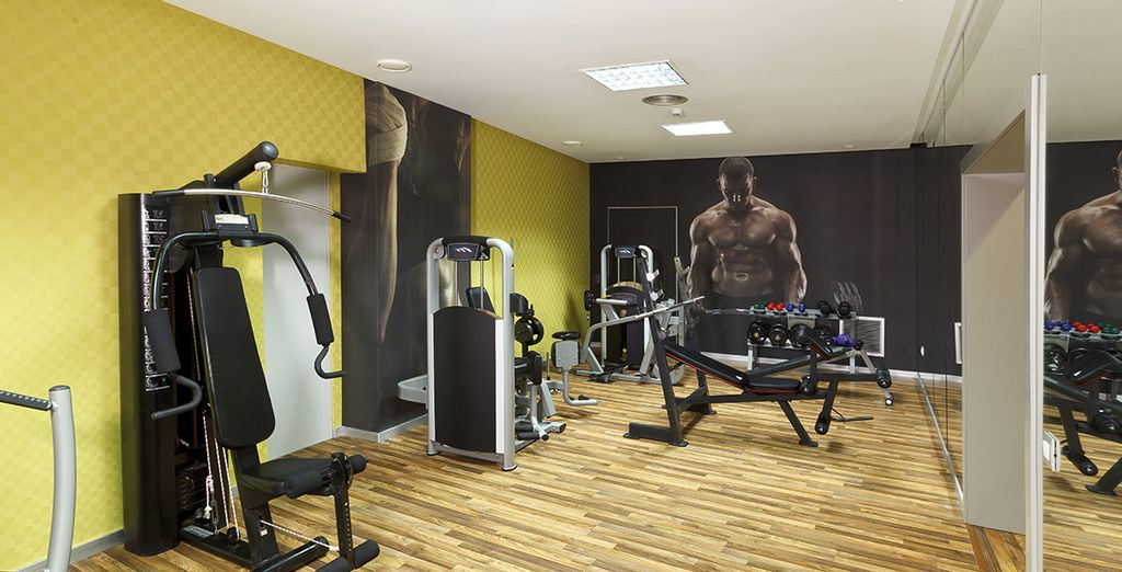 Make the most of the gym facilities