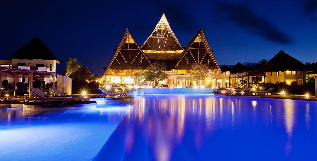 And admire this resort's striking design