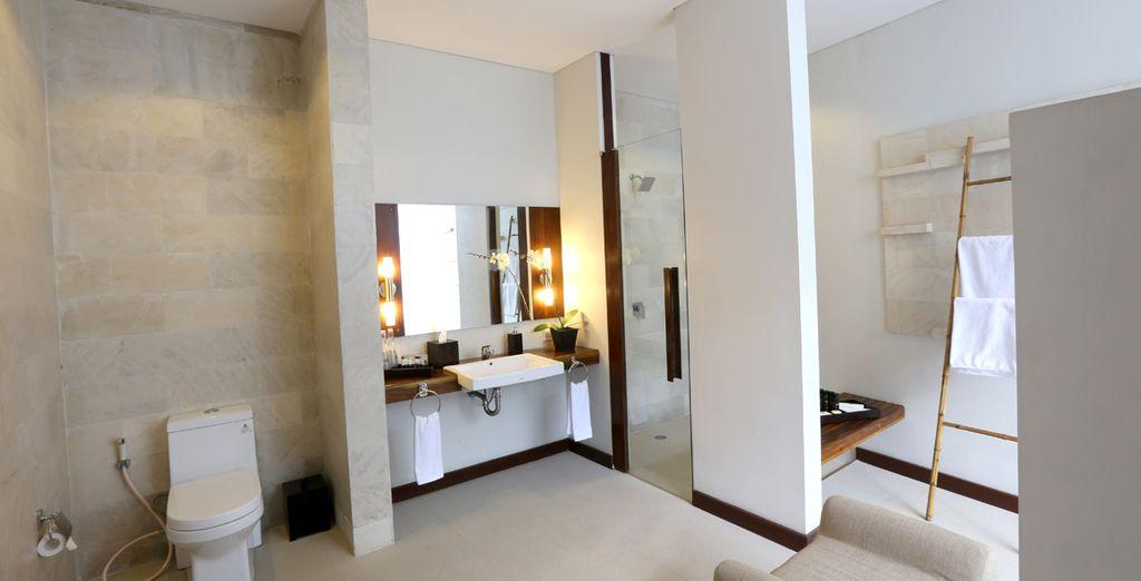 With sleek modern amenities