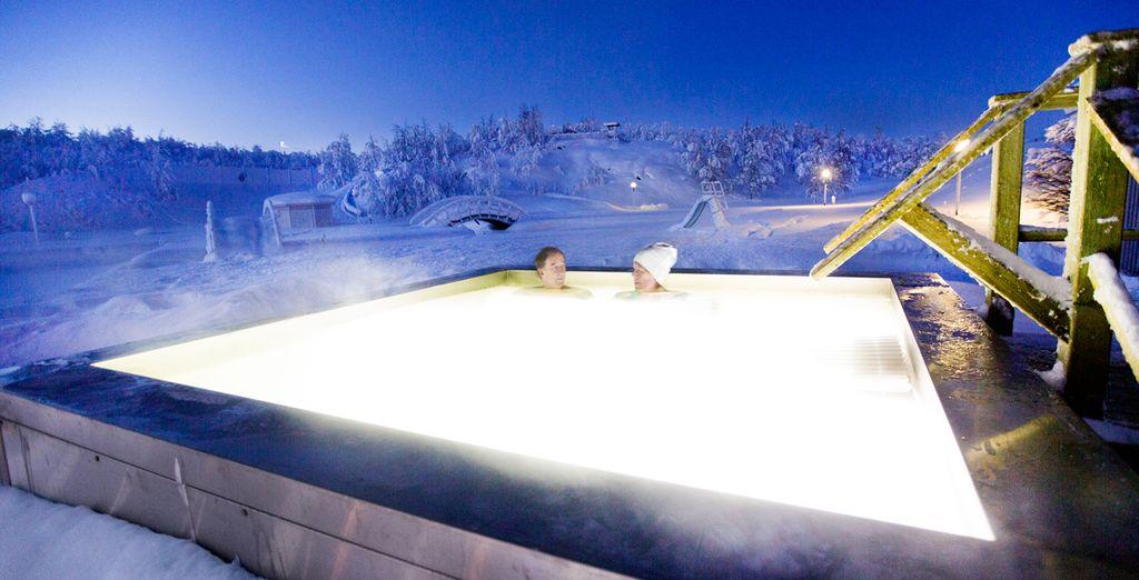 Including a unique outdoor hot tub