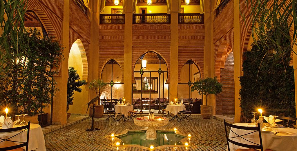 An exotic oasis in the city... - Riad Le Perroquet Bleu Marrakech