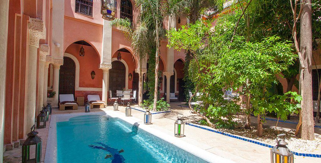 Boasting a cooling pool