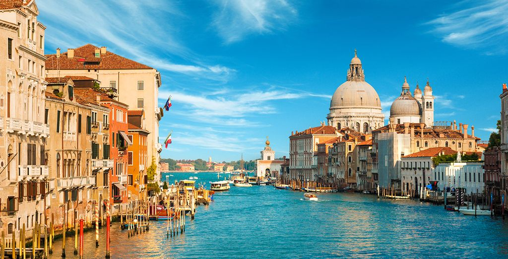 From the Grand Canal...
