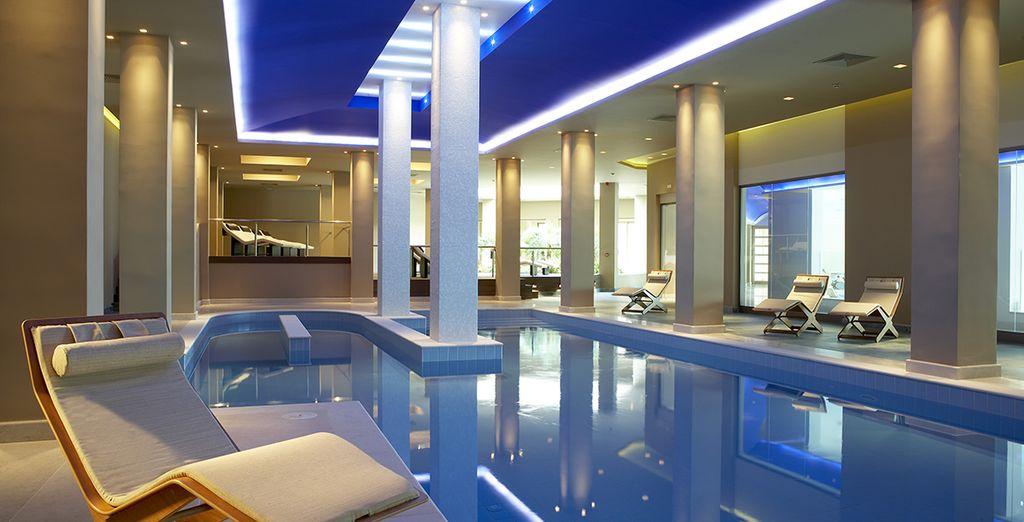 You will adore the award-winning spa