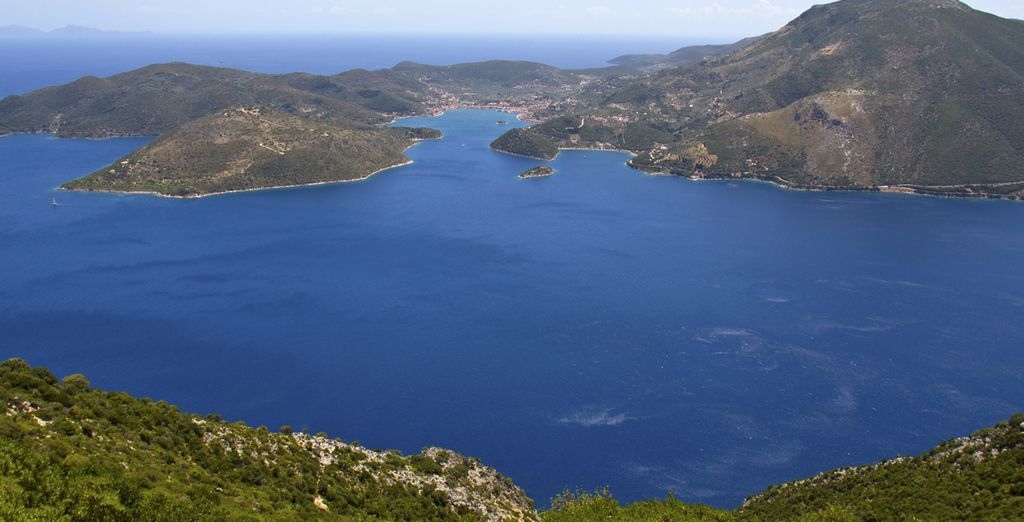 One of the smallest Ionian Islands