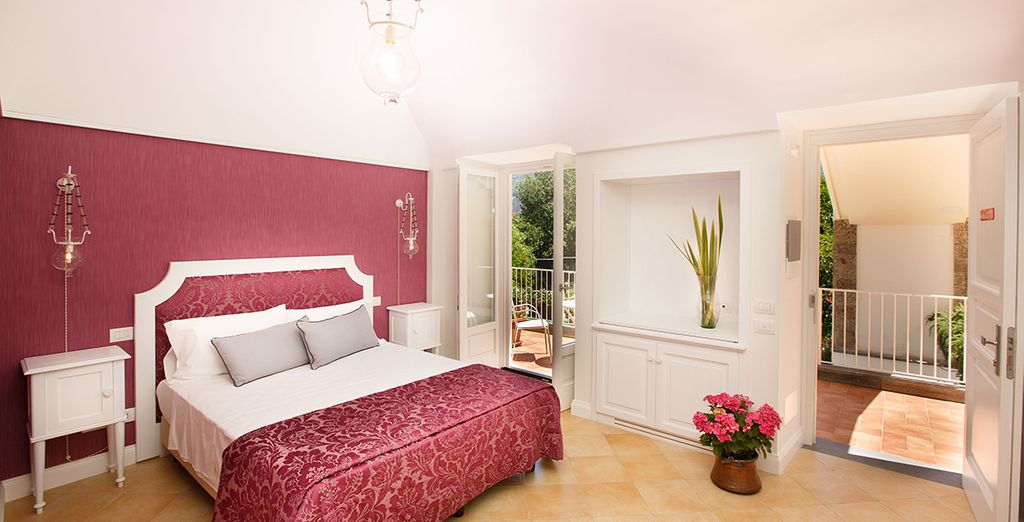 Our members can enjoy a spacious Junior Suite