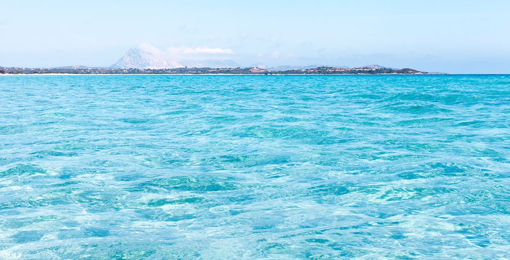 Experience the silky feel of these sparkling sea waters