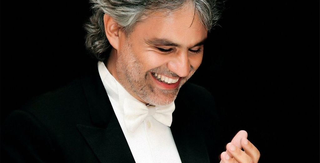 See the musical maestro Andrea Bocelli at work