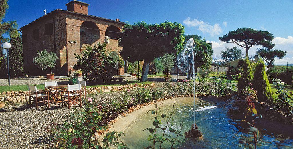 Welcome to the Relais Villa Petrischio