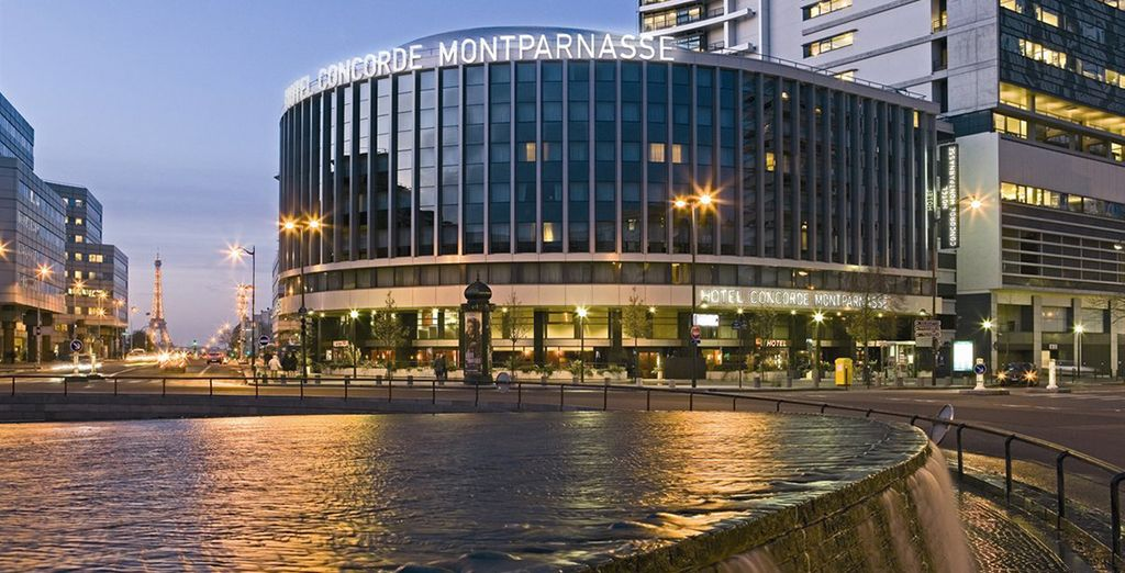 Experience it with a stay at the  Hotel Catalogne Paris Gare Montparnasse  - Hotel Catalogne Paris Gare Montparnasse 4* Paris