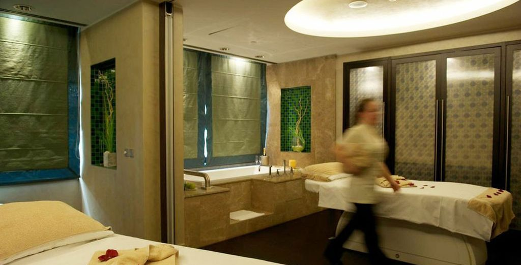 Don't forget to spend some time in the brilliant spa home to an indoor pool