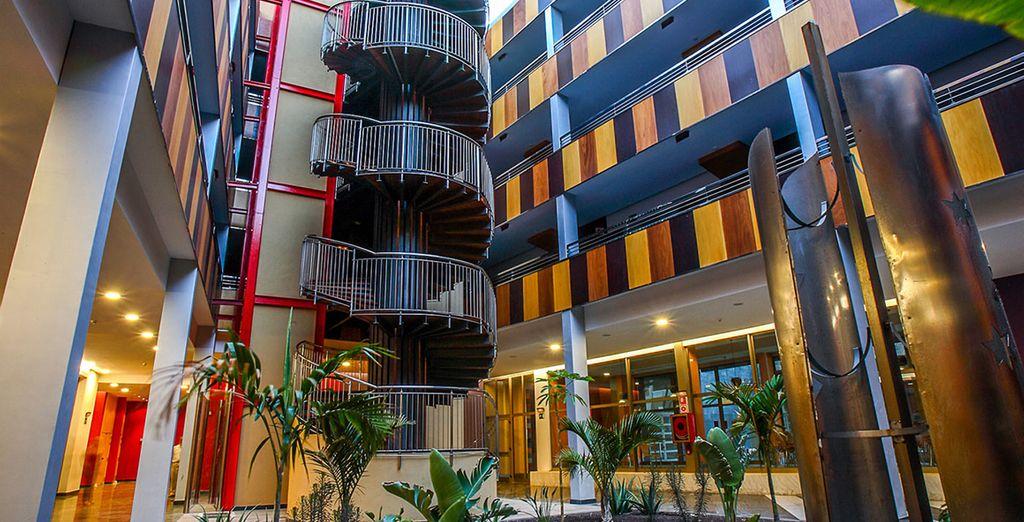 Explore the hotel spaces