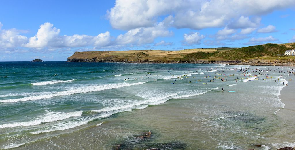 Within walking distance of Polzeath beach