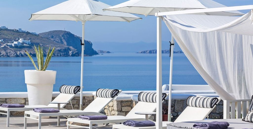 Lounge by the pool and catch up on your reading...