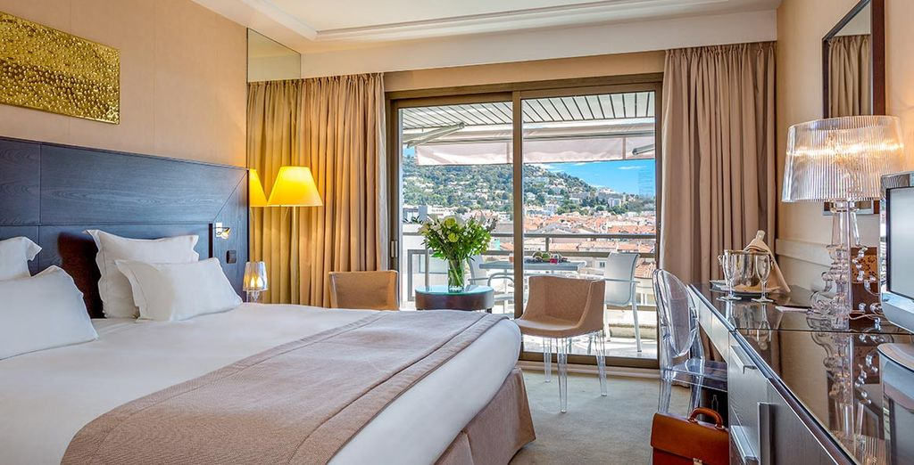 Stay in an utlra luxurious Executive Terrace Room