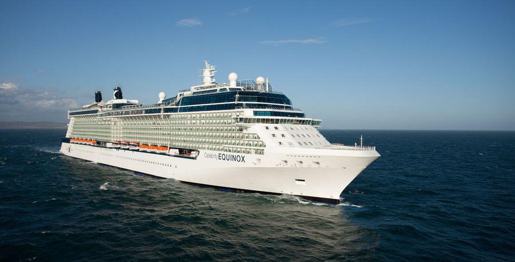 Set sail on the Celebrity Equinox - Celebrity Equinox 5* Miami