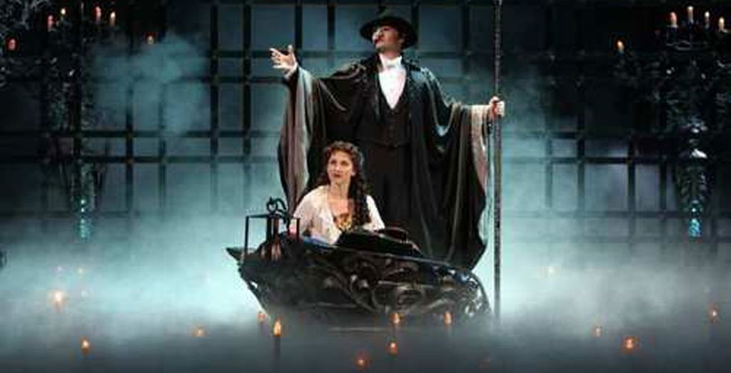 Or one of the true classics of the stage... Phantom of the Opera