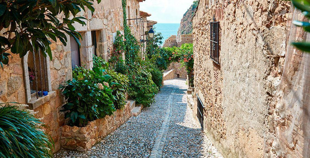 Explore your pretty local surrounds of Tossa de Mar