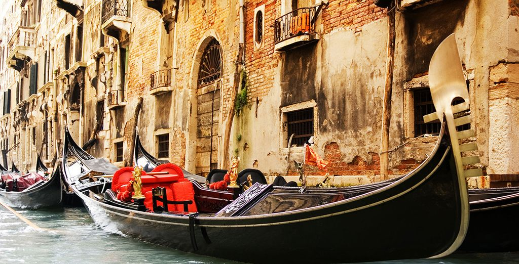And sail through some of Europe's finest destinations - starting from Venice
