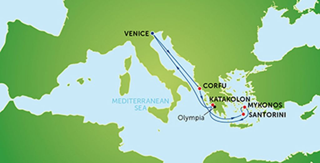 Greek Itinerary