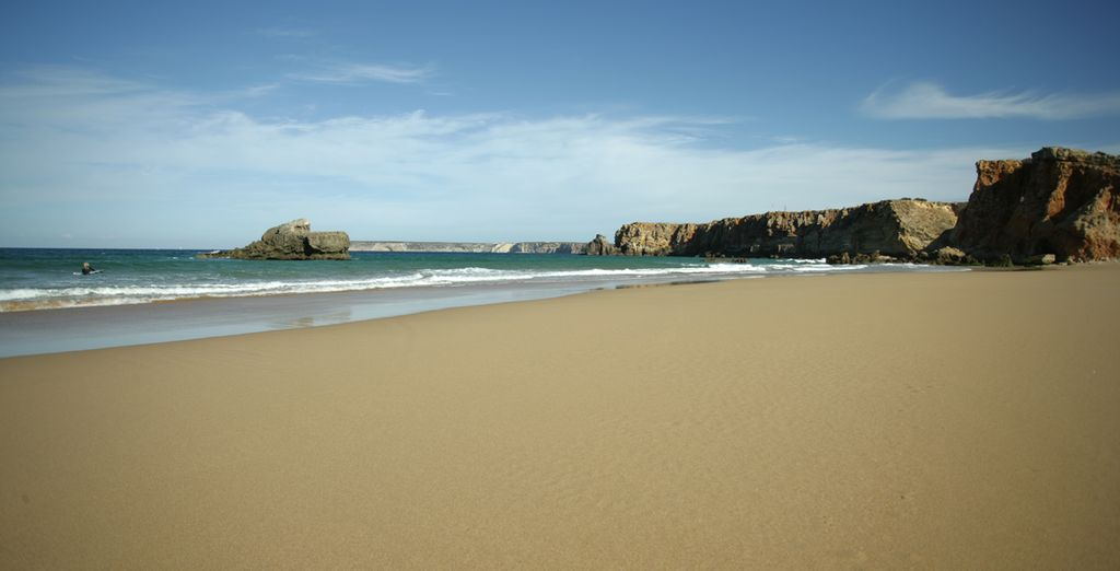 All surrounded by the amazing Algarve