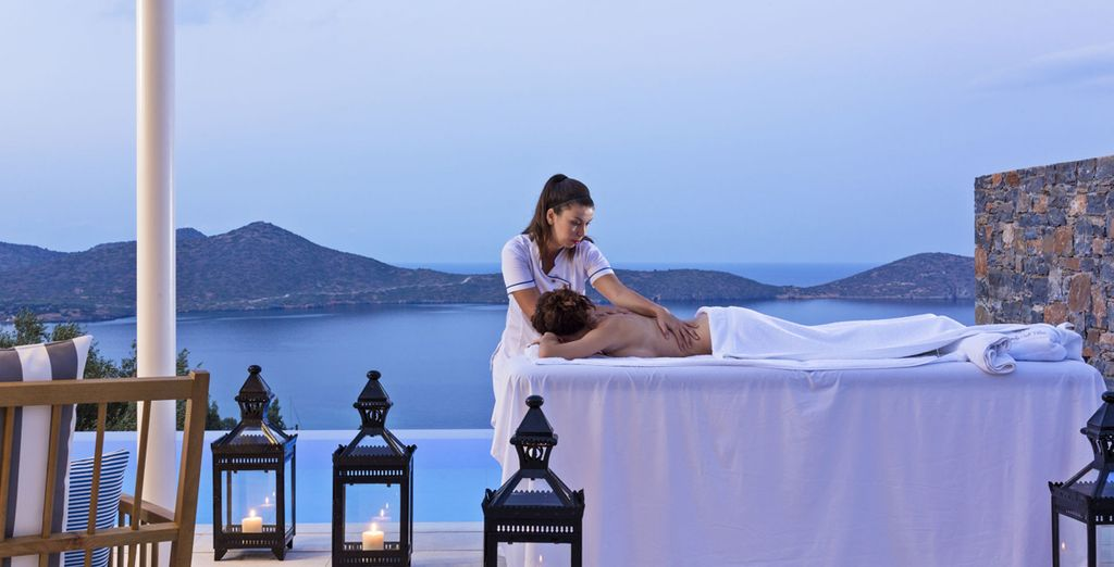 Return for a sensual massage to ease away tension