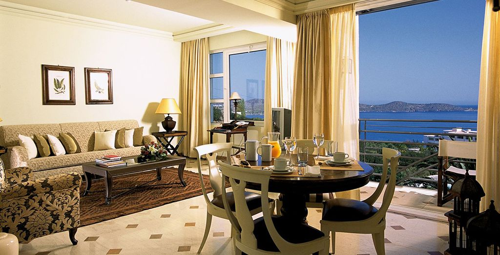 Stay in a Deluxe Suite