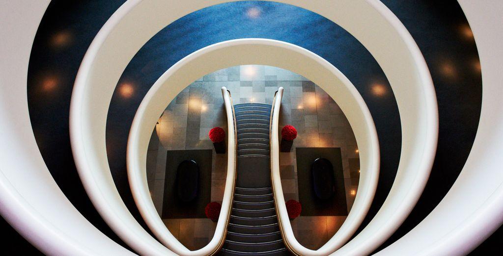 At an elite hotel of striking design - Aviator Hotel 4* Hampshire