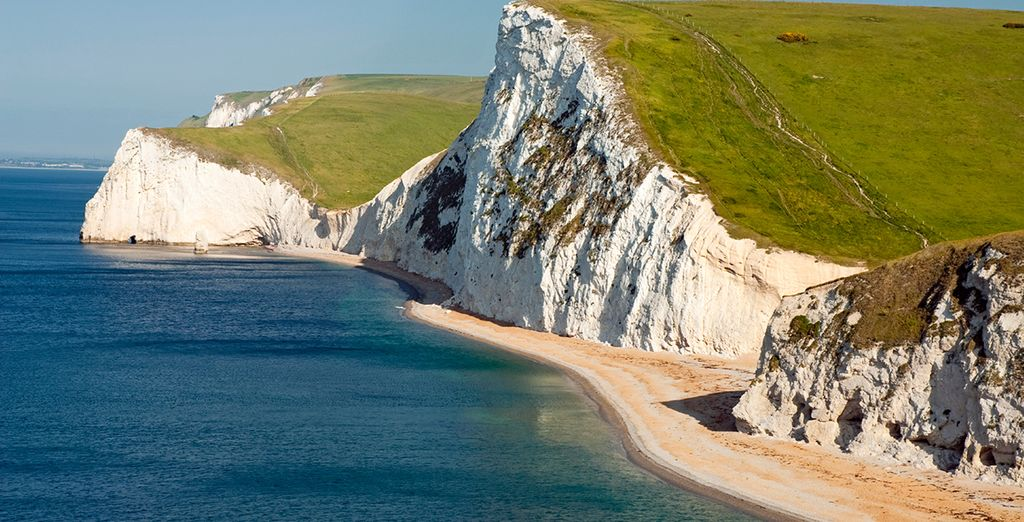 Explore the dramatic scenery of the Jurassic Coast
