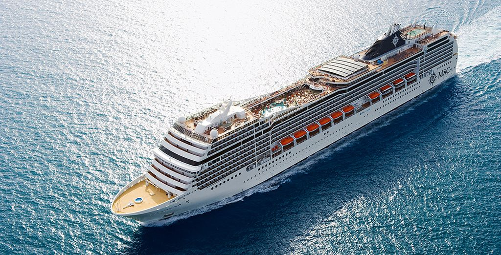All aboard the MSC Magnifica!