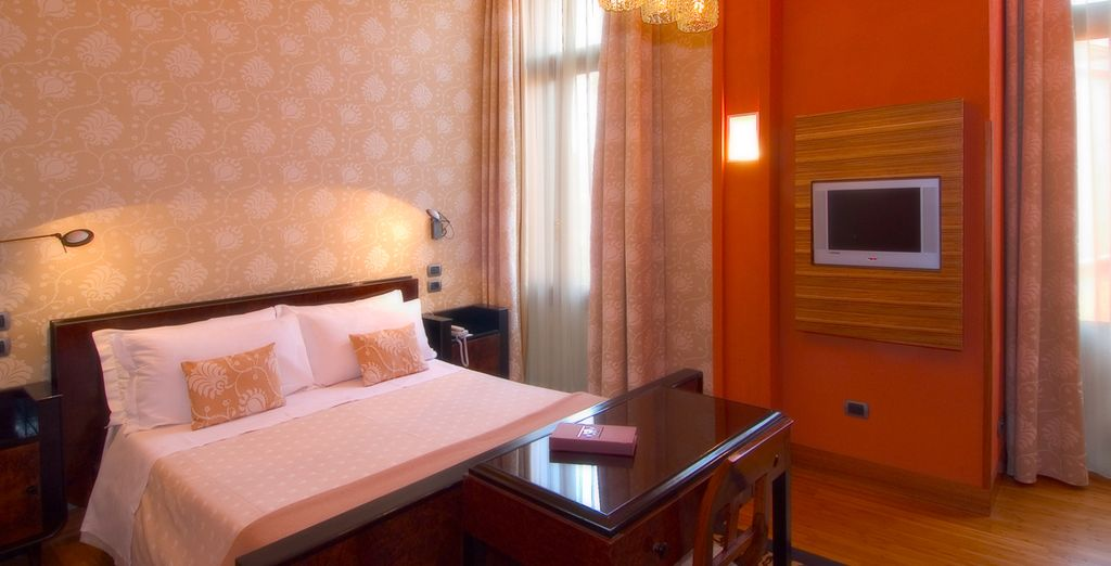 Stay in a Superior Deluxe Room, with chocolates to greet you on arrival!