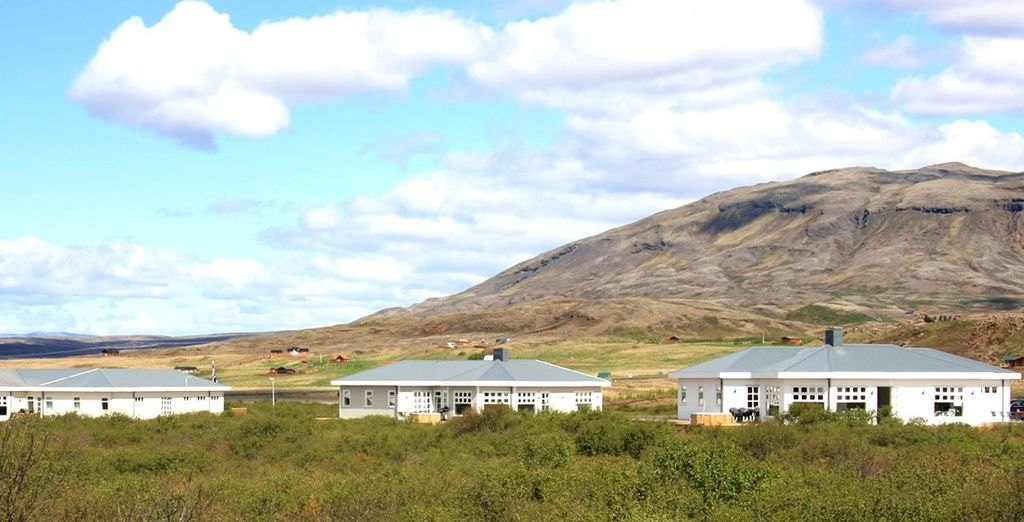 ...in the heart of the vast Icelandic countryside