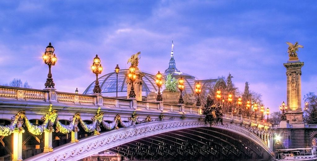 Be enchanted by Paris and all it has to offer