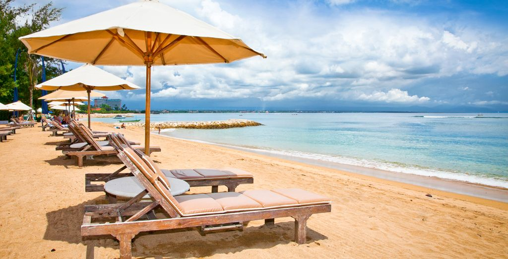 We will whisk you away to the beaches of Sanur