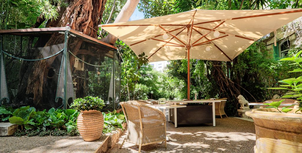 Discover a tropical garden in the heart of the Bay of Angels
