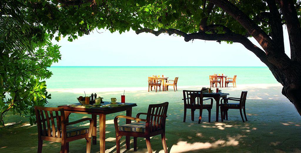 You'll love the island setting