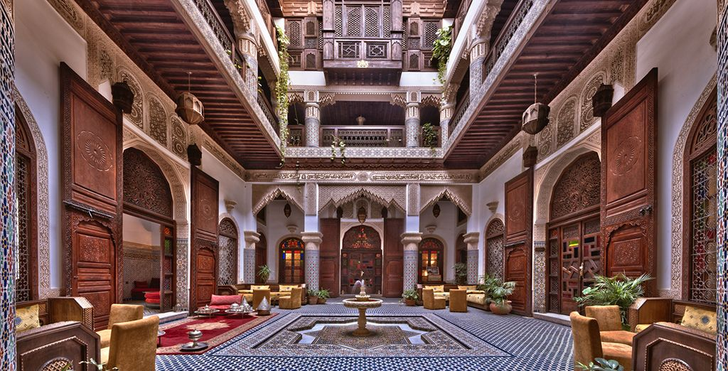 At the traditional styled Riad Salam - Riad Salam Fes 5* Fes