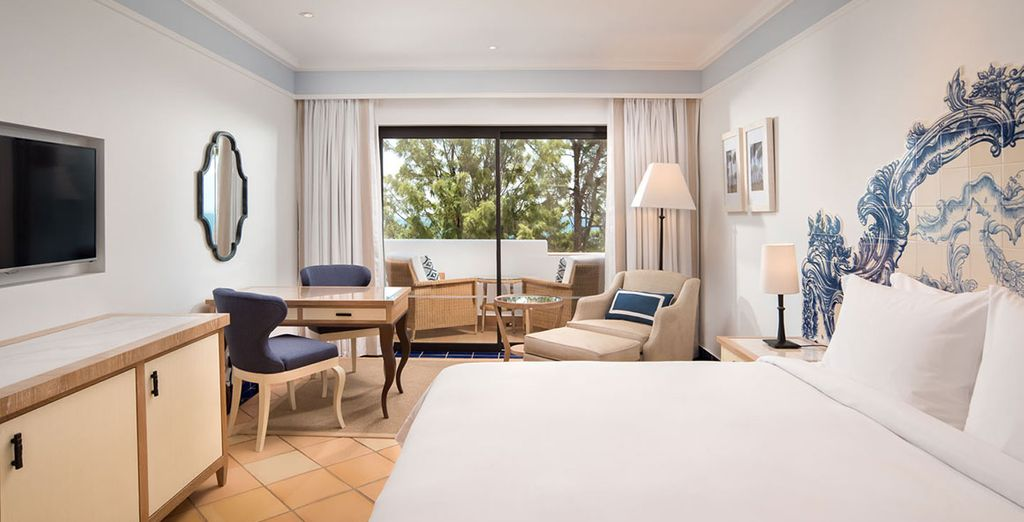 Where you'll stay in a Premium Deluxe Room