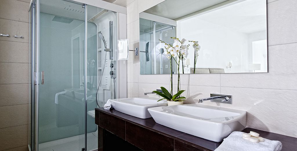 Both have modern luxury amenities