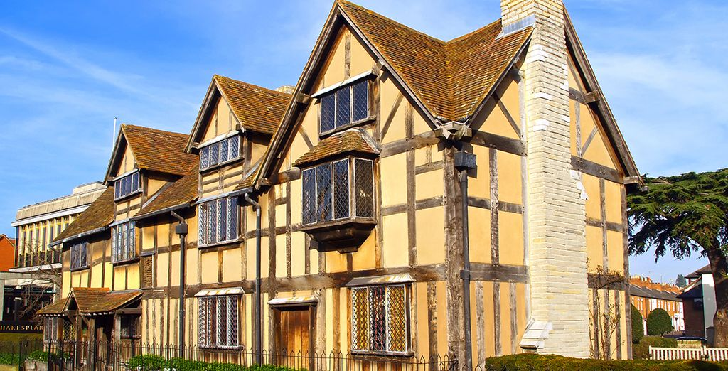 A pretty medieval town, famous as Shakespeare's birthplace