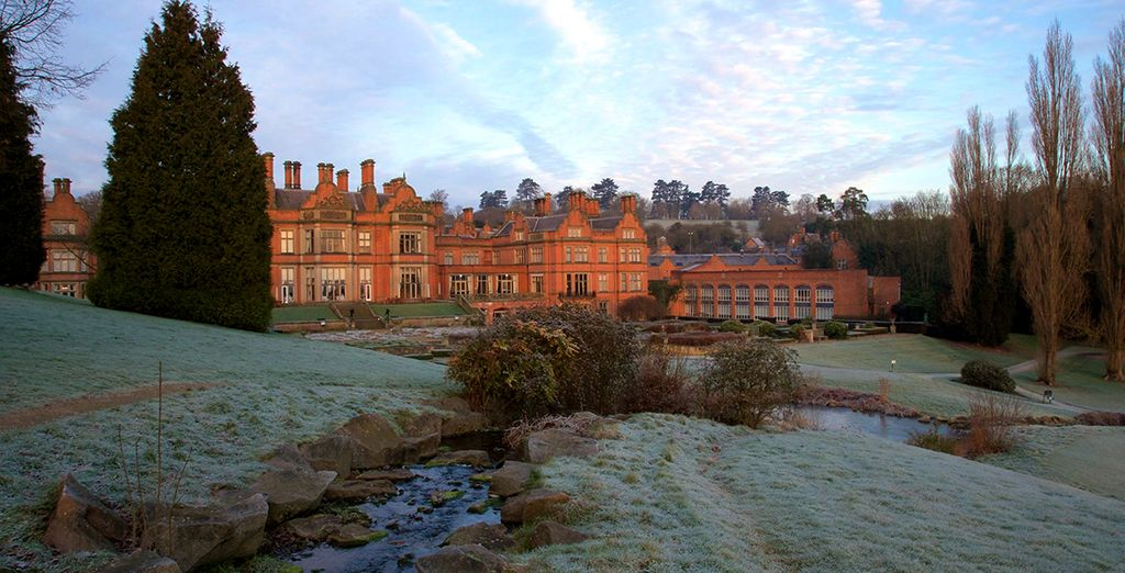 Escape to a beautiful country manor house