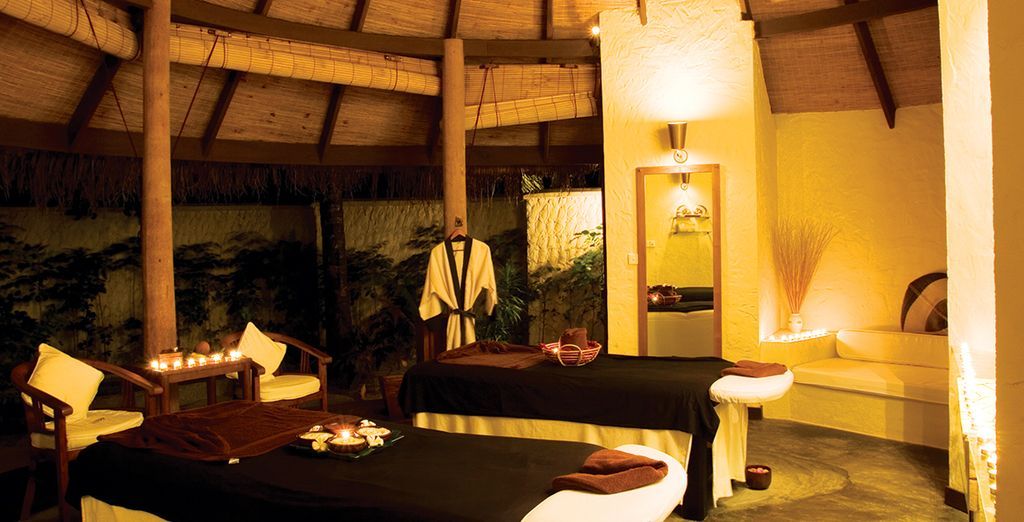 Or pamper yourself in the spa