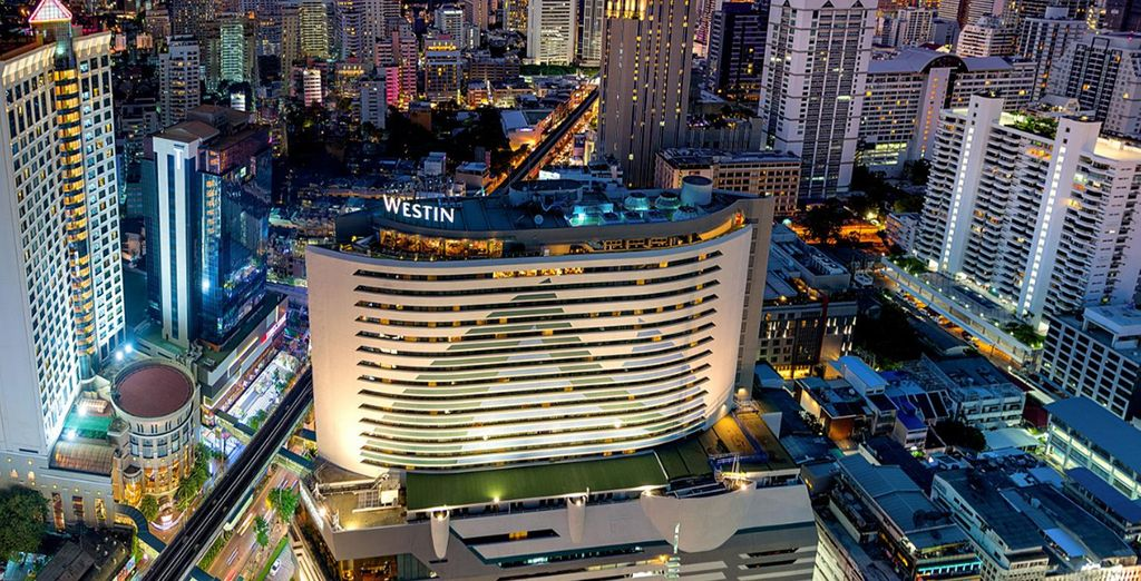 Start your stay in the heart of Bangkok
