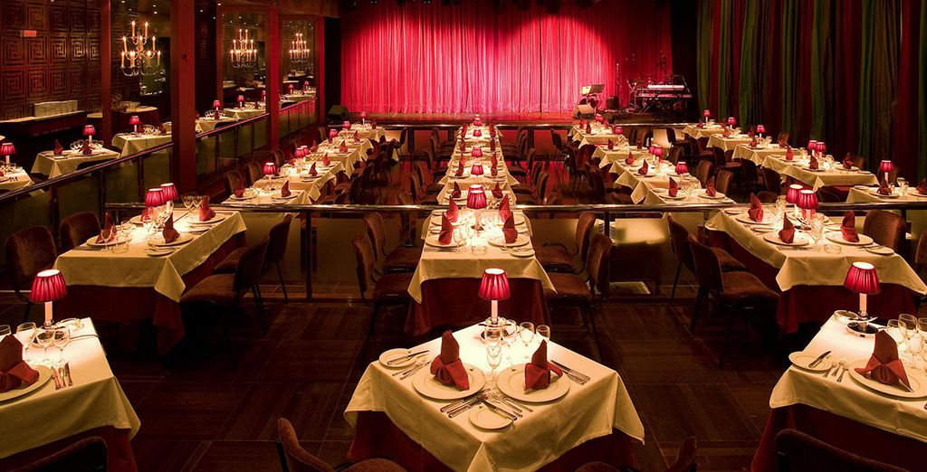 Or in grand surroundings with unforgettable entertainment options