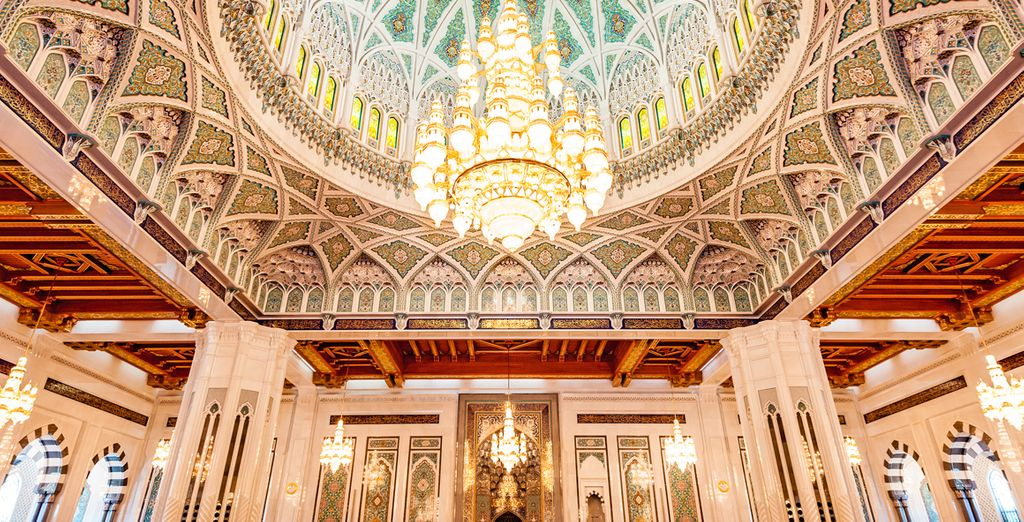 Qaboos Grand Mosque will take your breath away