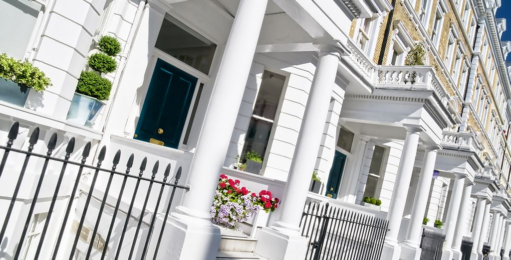 From the elegant townhouses of Knightsbridge