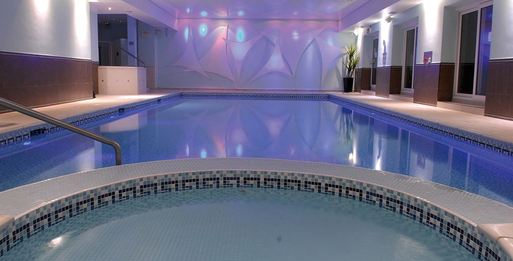 Or head to the health club for true indulgence
